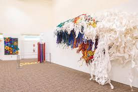 11 arizona artists repurposed rainbow ribbons for a new show at