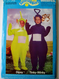 butterick halloween costumes butterick 5792 sewing pattern teletubbies costume dipsy and tinky
