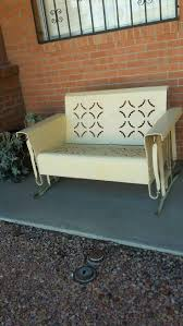 Retro Glider Sofa by Best 25 Farmhouse Outdoor Gliders Ideas On Pinterest Farmhouse