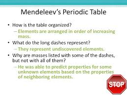 What Does Sn Stand For On The Periodic Table Chapter 6 The Periodic Table Ppt Video Online Download