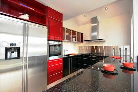 2014 decoration the white kitchen modern color combination cabinet