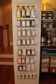 furniture pantry shelving unit with door ingredient organizers