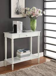 White Hallway Table Furniture Foyer Table Decorating Ideas Palmer Weiss White