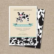 baby shower book invitation stock the library cow jumping