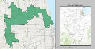 chicago voting map illinois s 5th congressional district
