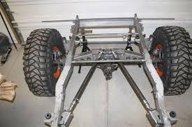jeep frame jeep yj rear frame back half kit