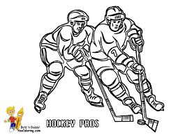 hockey coloring pages chuckbutt com