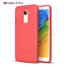Redmi 5 Plus For Xiaomi Redmi 5 Plus Litchi Grain Soft Tpu Cover Tvc