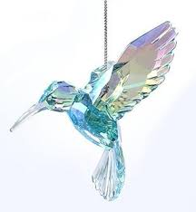 acrylic hummingbird ornament robert co town