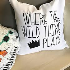 where the wild things are bedroom amazon com where the wild things are pillowcase playroom pillow
