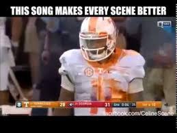 Tennessee Football Memes - tennessee vs georgia my heart will go on highlight youtube