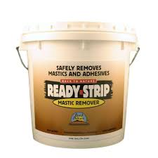 How To Remove Glued Wood Flooring From Concrete Ready Strip 1 Gal Mastic Remover Mr01 The Home Depot
