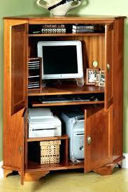 Computer Hutch Armoire Computer Hutch Armoire Corner Desk Corner Computer Desk Hutch