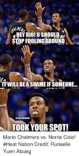 Mario Chalmers Meme - 25 best memes about mario chalmers and nba mario chalmers