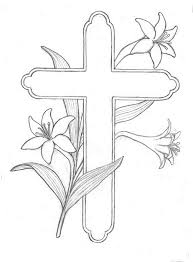 religious easter coloring pages free coloring kids clip art