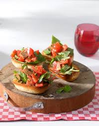 leichte küche für abends bruschetta rezept essen und trinken