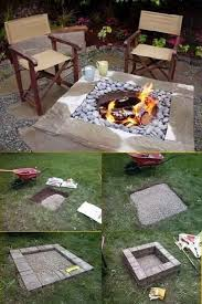 Bbq Side Table Plans Fire Pit Design Ideas - best 25 square fire pit ideas on pinterest stone fire pits how
