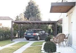 tettoie per auto copertura auto a 4 pilastri idealferro