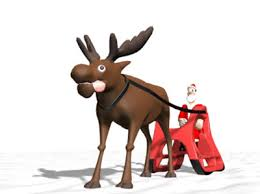 animated santa claus animation characters 3d model