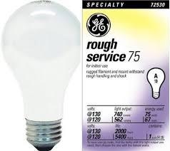 Rough Service Light Bulbs Toolmonger