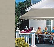 Electric Patio Awning Motorized And Motorized Xl Awnings From Sunsetter