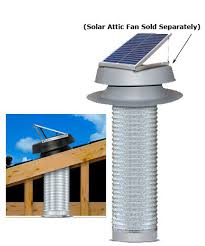 solar garage exhaust vent kit
