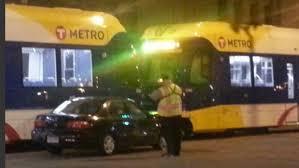 third collision along green line during light rail testing gomn