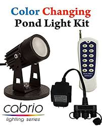 remote audio video lighting amazon com easypro color changing led pond light complete kit