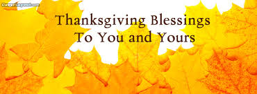 thanksgiving blessings to you and yours cover