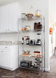kitchen industrial shelving how to nest for less