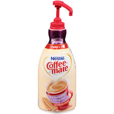 nestlé coffee mate sweetened original liquid coffee creamer 50 7