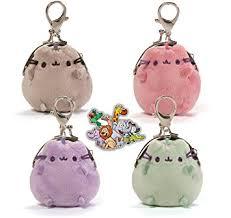 pusheen earrings gund pusheen the cat 4 mini coin 3 plush purses