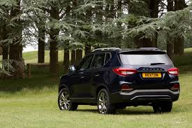 new ssangyong rexton priced from 27 500 uk sales start this fall