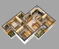 3d home interior 3d model home interior fully furnished cgtrader