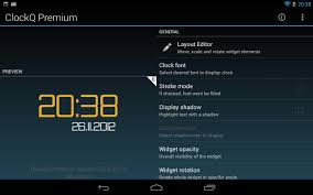 best clock widget for android clockq premium android apps on play