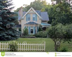 old yellow brick home stock photos image 32538433
