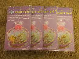 gift plastic wrap premium heavy duty pre cut pvc basket gift plastic wrap bags