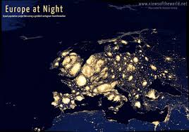 Light Polution Map Light Pollution Archives Views Of The World