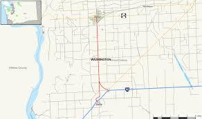 Wsdot Seattle Traffic Map by Washington State Route 281 Wikipedia