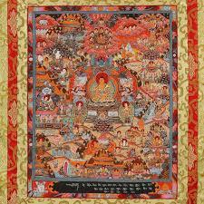 buddhism home decor mandala wall art thangka tibetan mandala