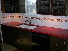 Red Black White Kitchen - 15 red kitchen backsplash ideas 8481 baytownkitchen