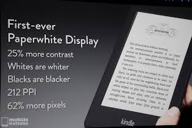 is kindle android introduces kindle paperwhite with new high contrast display