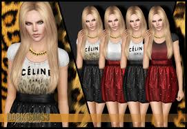 chain necklace dress images My sims 3 blog dress and chain necklace by darko jpg