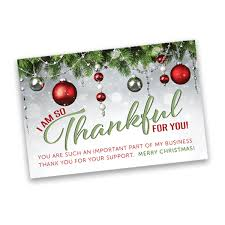 christmas thank you cards thank you card 4 x 6 merry christmas itw visions