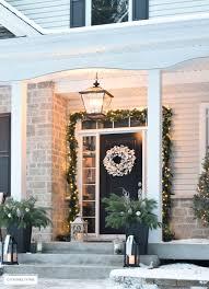 outdoor christmas decor and new lighting