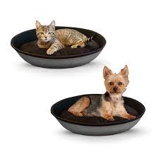 Hooded Dog Bed Traditional K U0026h Cat Beds Memory Foam Orthopedic Washable U0026 More