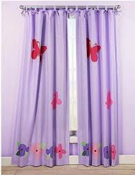 Pink And Purple Curtains Kids Pink Purple And Lavender Tab Tie Top Floor Length Baby Girls