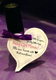 pink party favors mani thanks tags baby shower thank you gifts