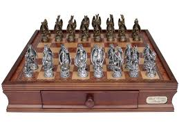 furniture outstanding dragon chess set with wooden material and