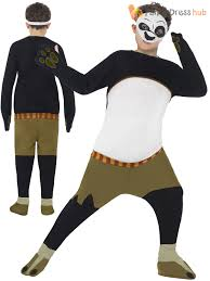 child kung fu panda costume boys po fancy dress book week
